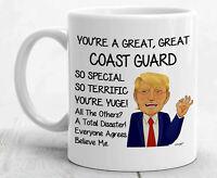 Trump Coast Guard Mug For Coast Guard Gifts For Coast Guard Coffee Mug
