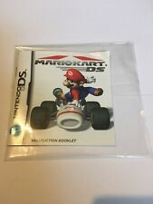 Mario Kart DS Instruction Manual Booklet ONLY!! (DS)