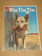 RIN TIN TIN #12 VG (4.0) DELL COMICS MARCH 1956