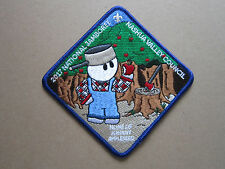 Nashua Valley Council 2017 BSA Cloth Patch Badge Boy Scouts Scouting (L2K)