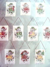 KITTENS Ornaments Counted Cross Stitch Kit--Unopened