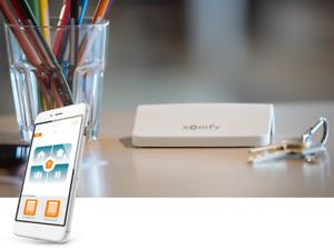 Somfy CONNEXOON WINDOW RTS smartphone control Alexa Amazon