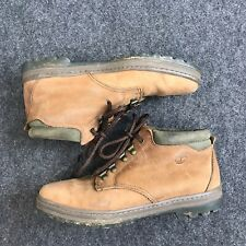 Women's Timberlands Ankle Booties Size 9 Brown Green Q14