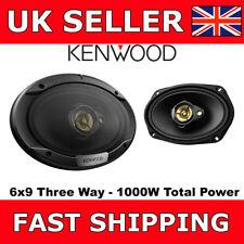 "Kenwood KFC-S6976EX  6""x9"" 3-Way Car Van Shelf Speakers 1000 Watts Total Power"