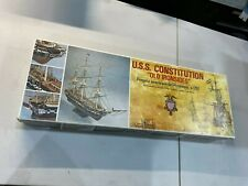 Uss Constitution Mamoli Mv31 93 Scale Wood Ship
