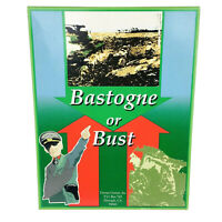 Bastogne or Bust Terran Games UNPUNCHED Complete VG+