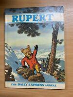 1970 RUPERT BEAR VINTAGE ILLUSTRATED ANNUAL HARDBACK BOOK (P3)