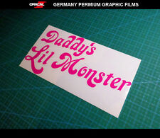 Daddy's Lil Monster HARLEY QUINN JDM decal Car Truck ute Vinyl sticker