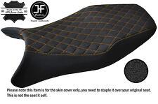 STYLE 4 YELLOW ST CUSTOM FITS HONDA CBR 1100 XX SUPER BLACKBIRD VINYL SEAT COVER