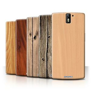 STUFF4 Phone Case/Back Cover for OnePlus One /Wood Grain Effect/Pattern
