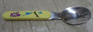 Vintage 1992 Barney Kids Melamine Silver Spoon Replacement (BIN 25)