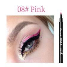 Matte Eyeliner Waterproof Liquid Long Lasting Eye Liner Pen Party Eye 12 colors