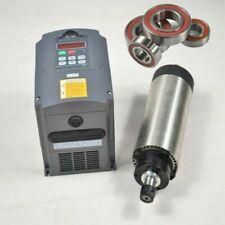ER16 1.5KW AIR-COOLE SPINDLE MOTOR CNC MILL ENGRAVING +1.5KW INVERTER DRIVE VFD