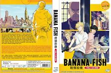 Banana Fish (VOL.1 - 24 End) ~ All Region ~ Brand New & Seal ~ English Version ~