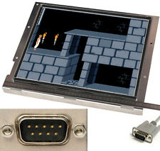 "17"" 43cm diagonale 9-pin EGA input molto quadro chiaro openframe monitor display"