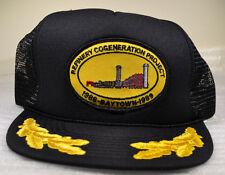 Black Mesh Trucker Hat Cap Refinery Cogeneration Project 1988 Baytown 1989