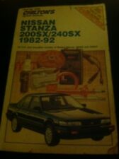Sx 240 ebay chiltons nissan stanza200sx240sx repair manual 1982 92 fandeluxe Image collections