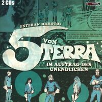 DIE 5 VON TERRA-IM AUFTRAG DES UN - OHRENKNEIFER (MAROTO,ESTEBAN)  2 CD NEU
