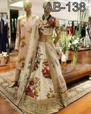 Actual Pics-Bollywood Indian PAkistani Heavy Bridal Party Lehenga Lehnga Saree