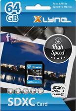 Xlyne SDXC Karte 64GB Speicherkarte UHS-I Class 10