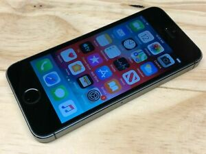 USED  FACTORY UNLOCKED SPACE GRAY APPLE IPHONE 5S 16GB GOOD CONDITION 7/10