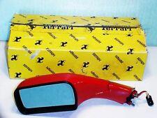 Ferrari 348 Side Rear View Mirror_Left_62189010_in Box_OEM_NEW_RED_348 2.7_TS_TB
