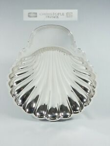 Vintage Christofle French Silver Plate 34cm Shell Serving Dish Bowl Plate France