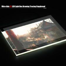 A5 LED Light Sketching Board Box Tracing Drawing Table Panel Pad with USB Cable