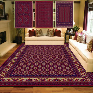 Afghani Rug Non Slip Large Traditional Rugs Living Room Rugs Hallway Runner Mats