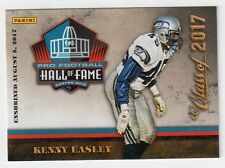 Kenny Easley Panini NFL Pro Football Hall of Fame Class of 2017 Card HOF