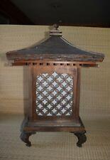 Old Japanese wood lantern Andon