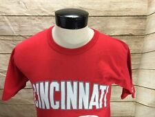 Starter Mens Medium Cincinnati Reds T-Shirt MLB Baseball Vintage USA Made