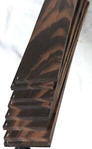 """Indian ebony guitar fingerboard fretboard blank 2.9x19"""" IEF1"""
