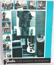 Fender 1961 Downbeat Insert 6 Page Guitar Catalog Reprint P/N 0995503009