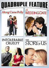 Romantic Comedy Pack Quadruple Feature (DVD, 2008, 2-Disc Set) New