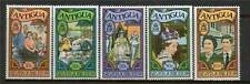 Antigua 1977 Royal Visit OPTD SG 548/52 MNH