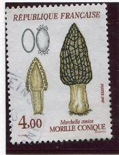 TIMBRE FRANCE OBLITERE N° 2490 CHAMPIGNON MORILLE / Photo non contractuelle