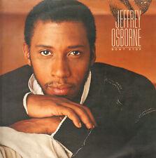 JEFFREY OSBORNE - Don't Stop - 1984 A&M Records – LP, álbum Eur - AMLX 65017