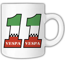VESPA 11 MUG Mr Oilcan Exclusive Design Scooter vespa