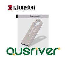 Kingston 32GB USB2.0 Flash Drive DataTraveler DTSE9 Pen Key Silver