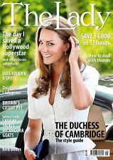 The Lady Magazine,KATE MIDDLETON,JRR Tolkien,Daniel Day-Lewis,Elizabeth Taylor