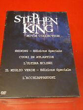 STEPHEN KING MOVIE COLLECTION COFANETTO DVD SIGILLATO