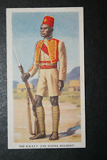 Nigeria Regiment  Royal West African Frontier Force   1930's Vintage Card  # VGC