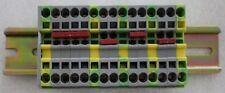Reihenklemmen Klemmleiste  Pönix Contact U-Schiene 35mm x 7,5mm ca150mm N9  NEU