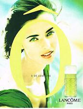 PUBLICITE ADVERTISING 114  1997  LANCOME parfum O pour FEMME