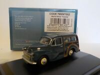 Model Car, Morris Minor Traveller, Blue, 1/76 New