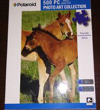Colt Friends Horses 500 pcs Polaroid Photo Art Collection Jigsaw Puzzle! NIB!