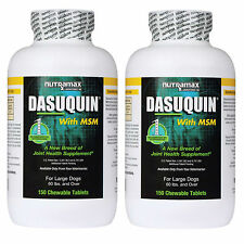 Dasuquin for Large Dogs Over 60lbs With MSM 150ct (2pack-300tablets)