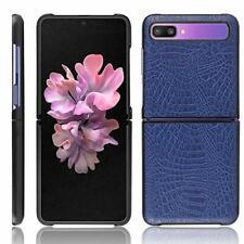 Cover Samsung Galaxy Z Flip Custodia,Nuovo di Alta qualità Modello Blu