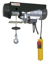 Paranco elevatore elettrico argano verricello montacarichi 300/600kg 18MT